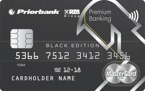 World MasterCard Black Edition